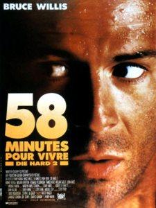 58 minutes pour vivre affiche