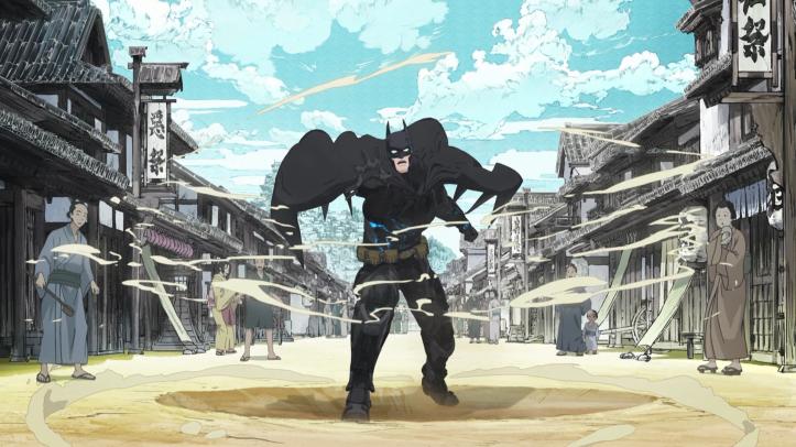 batman ninja arrivée au japon feodal