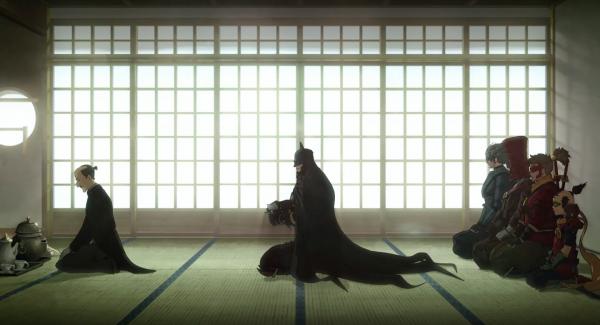 batman-ninja cérémonie du thé