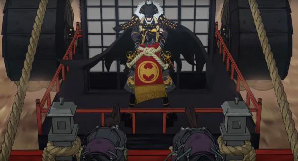 batman-ninja tenue de samourai