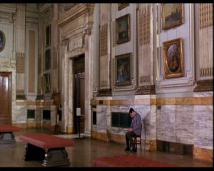 bean le film interieur de La National Gallery de londres