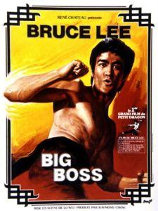 Big boss affiche bruce lee