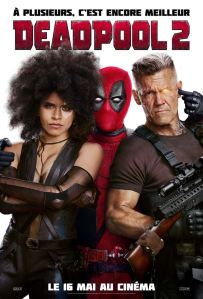 deadpool 2 affiche film