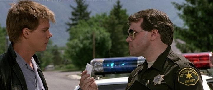 footloose 1984 ren controlé par un policier