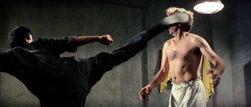 le jeu de la mort bruce lee vs robert wall