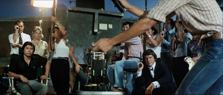 le jeu de la mort homme armée de vraies balles pendant le tournage d'un film