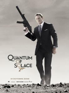 Quantum of solace affiche