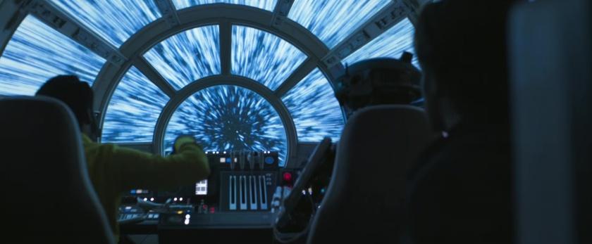 Solo-A-Star-Wars-Story vitesse lumiere faucon millenium