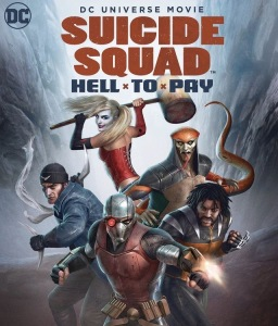 Suicide squad hell to pay affiche