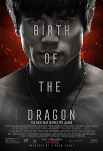 birth of dragon affiche
