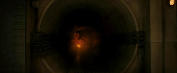 jurassic world fallen kingdom dinosaure caché dans un tunnel
