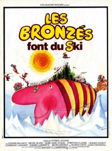 Les bronzés font du ski affiche