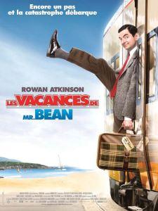 les vacances de mr Bean affiche
