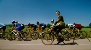 les vacances de mr bean à bicyclette