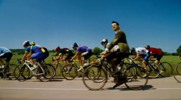 les vacances de mr bean à bicyclette