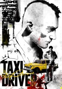 Taxi driver affiche