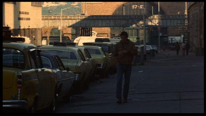 taxi driver travis bickle seul dans les rues de new york