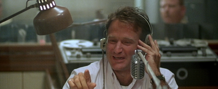good morning vietnam robin williams anime la radio