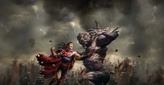 la mort de superman affiche promo