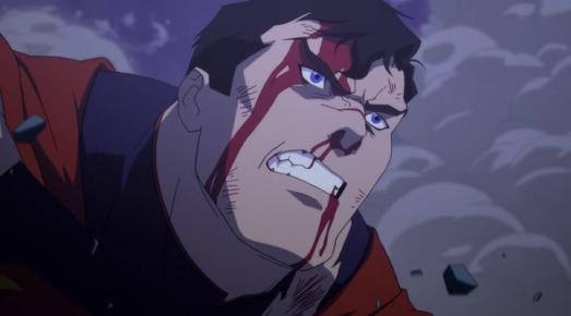 la mort de superman fou de rage lors de son affrontement contre doomsday