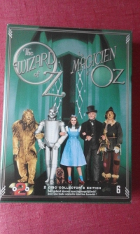 Le Magicien d'Oz Édition 75ème Anniversaire limitée Bluray face avant