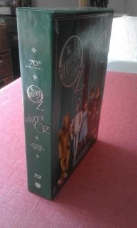 Le Magicien d'Oz Édition 75ème Anniversaire limitée Bluray tranche