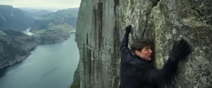 mission impossible fallout escalade sur une montagne du cachemire