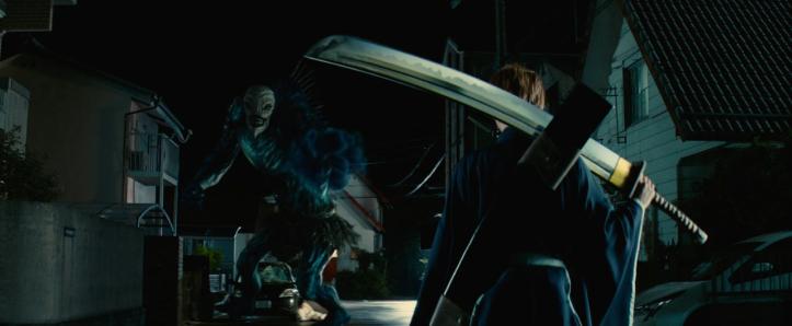 Bleach Ichigo combat son premier hollow