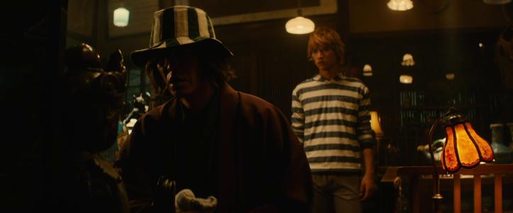 Bleach Ichigo et Kisuke Urahara