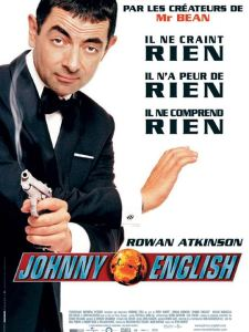 johnny english affiche