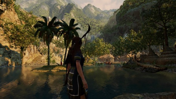 shadow of the tomb raider paititi Retour au village de Paititi après une rencontre hostile