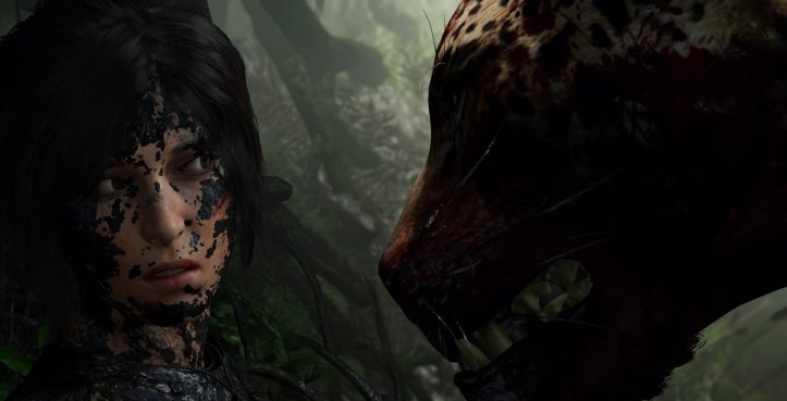 shadow of tomb raider dis moi il t arrive de saigner ca viendra