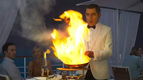 johnny english contre attaque scene du restaurant