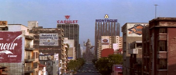 Romeo-and-Juliet-1997 batiments des capulet et montaigue