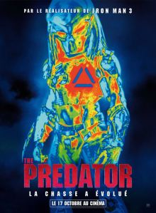 The predator affiche