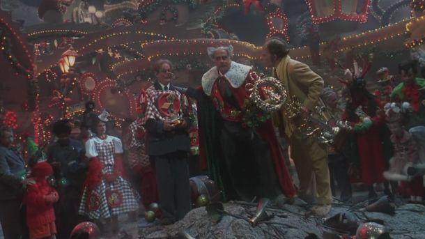 Le grinch 2000 le maire et les autres choux