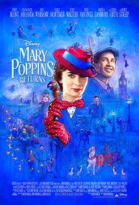 Le retour de mary poppins affiche