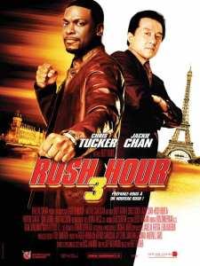 Rush hour 3 affiche