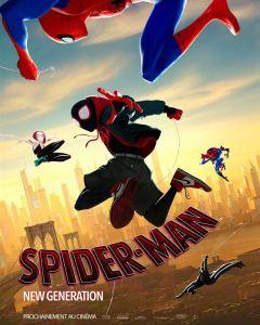 Spider-man new generation affiche