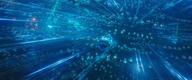 aquaman bataille dans l'océan