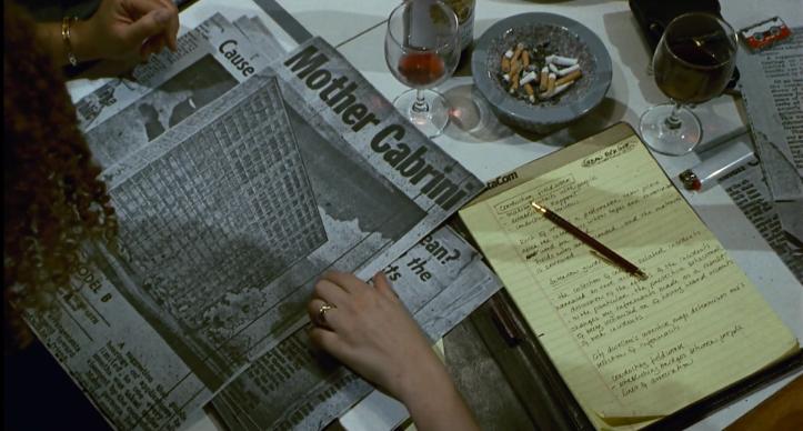 candyman enquete coupures de journaux et notes d'helen