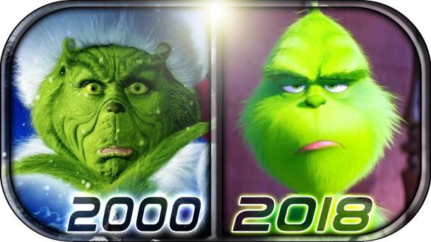 grinch 2000 vs grinch 2018