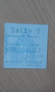 place ciné rush hour