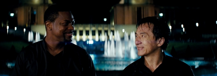 rush hour 3 lee et carter se sourient