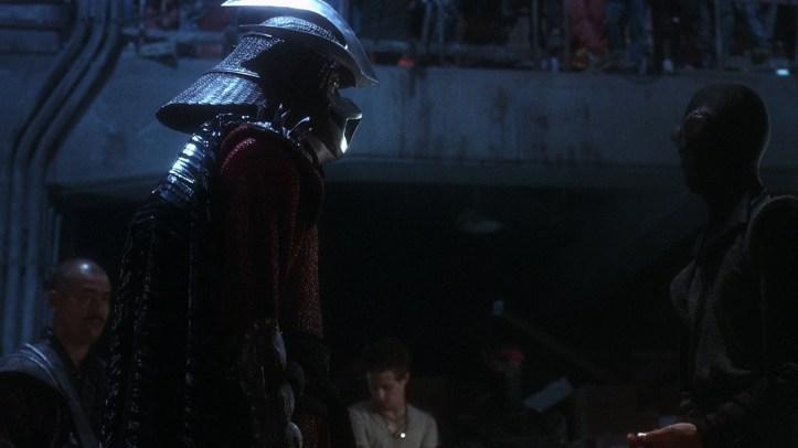 les tortues ninja 1990 shredder et un nouveau membre du clan des foot