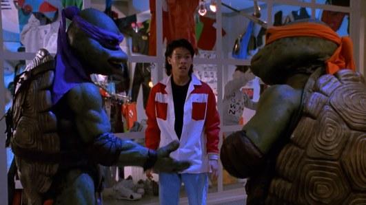 les tortues ninja 2 keno fait la connaissance des tortues