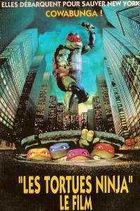 les tortues ninja le film 1990 affiche