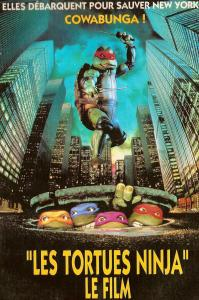 les tortues ninja le film 1990 affiche