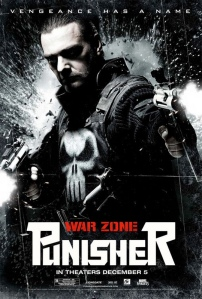 punisher zone de guerre affiche