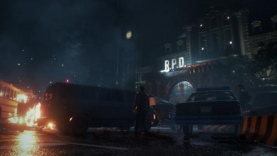 resident evil 2 remake commissariat de racoon city